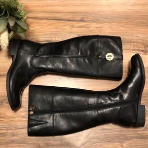 Tommy Hilfiger Black Iversin Boots 8.5
